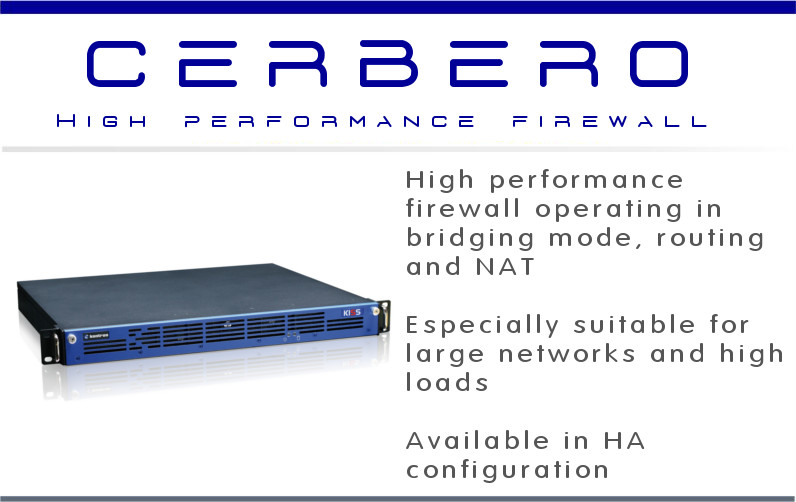 Cerbero - Hi performance and low latency firewall