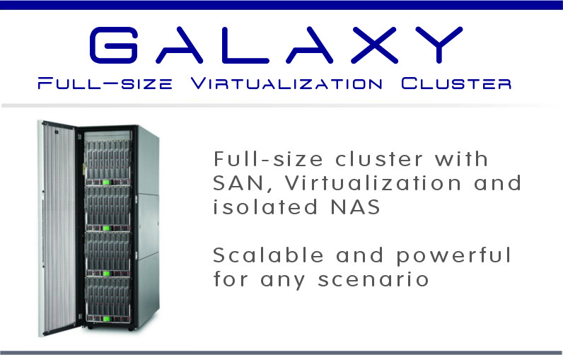 Galaxy - Datacenter virtualization cluster